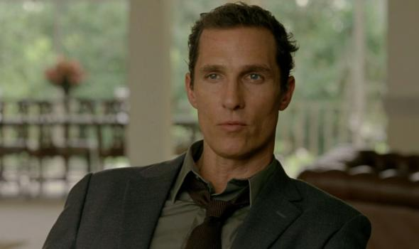"Matthew McConaughey as Detective Rust Cohle in Season 1 Episode 6 of ""True Detective."" Photo Credit: HBO"