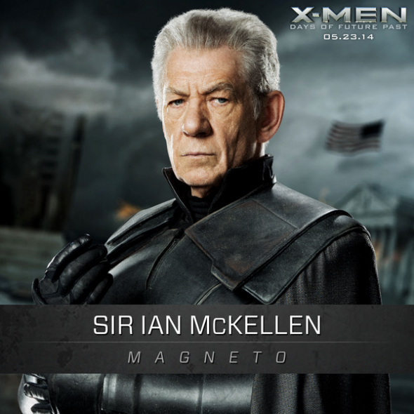 "Sir Ian McKellen as Magneto in ""X-Men: Days of Future Past."" Photo Credit: Marvel/Twentieth Century Fox"