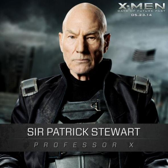 "Sir Patrick Stewart as Professor X in ""X-Men: Days of Future Past."" Photo Credit: Marvel/Twentieth Century Fox"