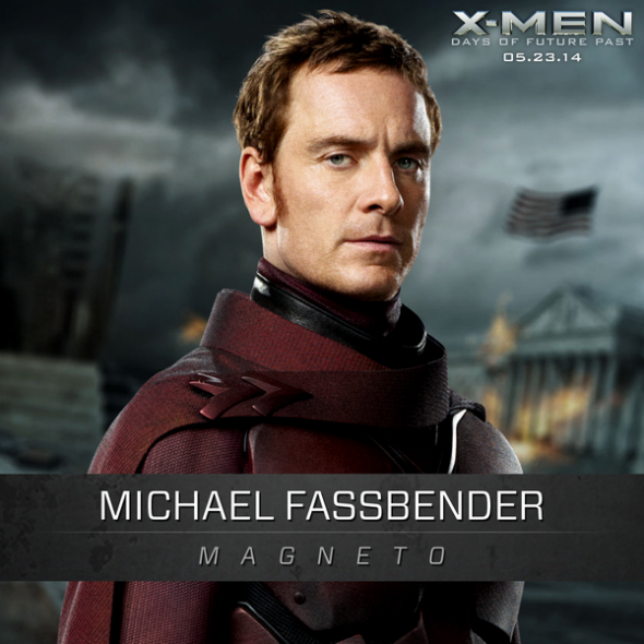 "Michael Fassbender as Magneto Ian McKellen as Magneto in ""X-Men: Days of Future Past."" Photo Credit: Marvel/Twentieth Century Fox"