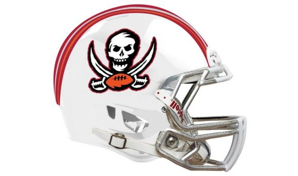 new bucs helmet