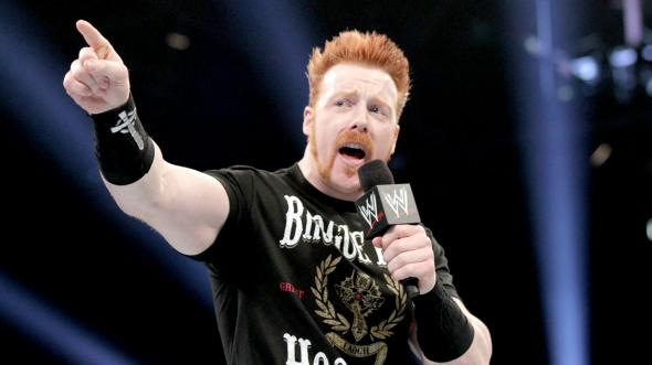 Former WWE/World Heavyweight Champion, Sheamus.