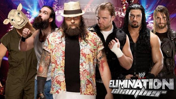 The Wyatt Family vs The Shield will take place on Sunday at the Elimination Chamber.