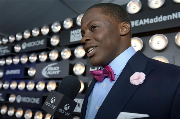 Jan 30, 2014; New York, NY, USA; University of Louisville quarterback Teddy Bridgewater attends the Madden Bowl XX Red Carpet event at the USS Intrepid Mandatory. Credit: Joe Camporeale-USA TODAY Sports