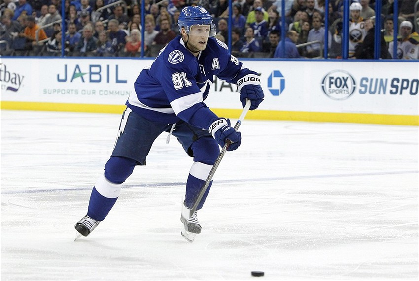 Steven Stamkos Scores First Goal Since Return Video