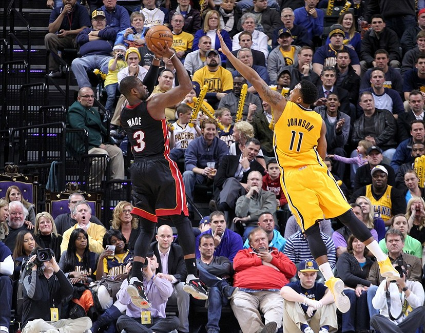 Heat at Pacers: Ray Allen out, Dwyane Wade likely in for Miami