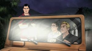 "Season 5 Episode 7 of ""Archer"" entitled ""Archer Vice: Smugglers' Blues."" Photo Credit: FX"