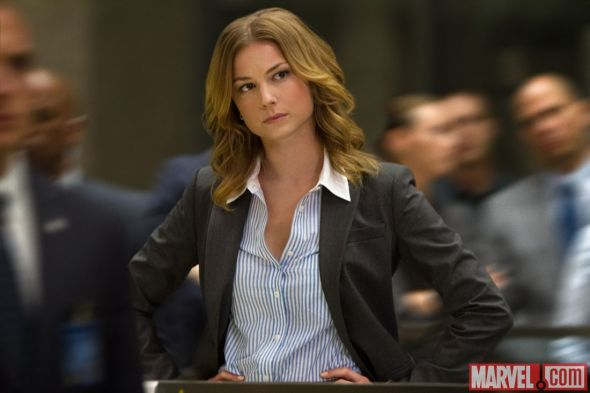 "Emily Van Camp as Agent 13 in ""Captain America: The Winter Soldier."" Photo Credit: Marvel"