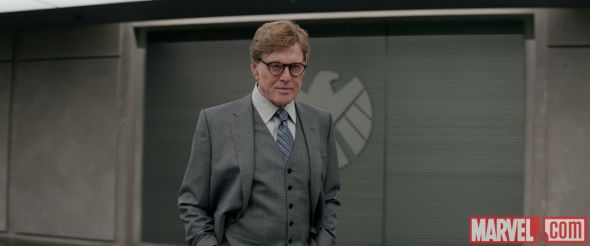 "Robert Redford as Alexander Pierce in ""Captain America: The Winter Soldier."" Photo Credit: Marvel"