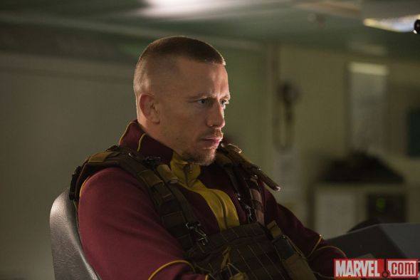 "Georges St-Pierre as Batroc in ""Captain America: The Winter Soldier."" Photo Credit: Marvel"