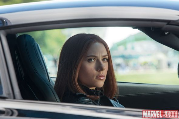 "Scarlett Johansson as Black Widow in ""Captain America: The Winter Soldier."" Photo Credit: Marvel"