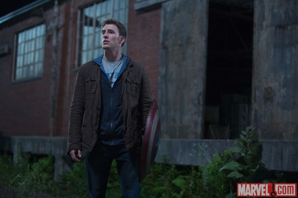 """Chris Evans as Steve Rogers in """"Captain America: The Winter Soldier."""" Photo Credit: Marvel"""