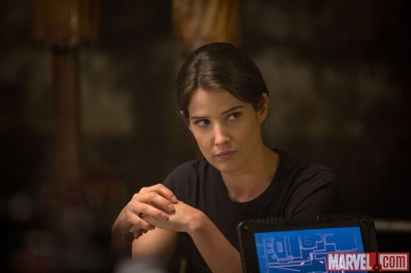 """Cobie Smulders as Maria Hill in """"Captain America: The Winter Soldier."""" Photo Credit: Marvel"""