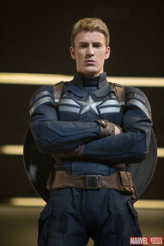 "Chris Evans as Steve Rogers in ""Captain America: The Winter Soldier."" Photo Credit: Marvel"