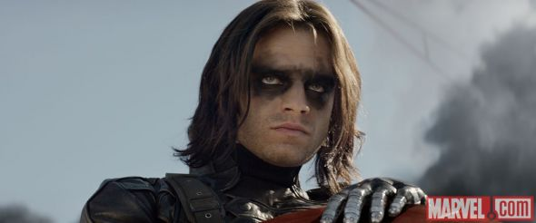 """Sebastian Stan as The Winter Soldier in """"Captain America: The Winter Soldier."""" Photo Credit: Marvel"""