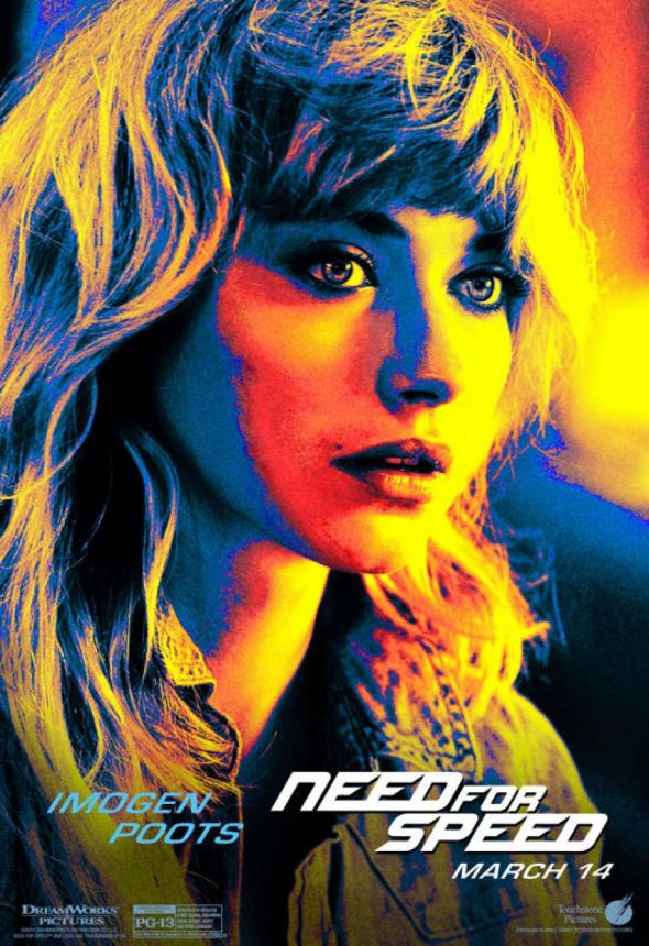 "Imogen Poots as Julia Maddon in ""Need For Speed."" Photo Credit: Walt Disney/DreamWorks SKG"