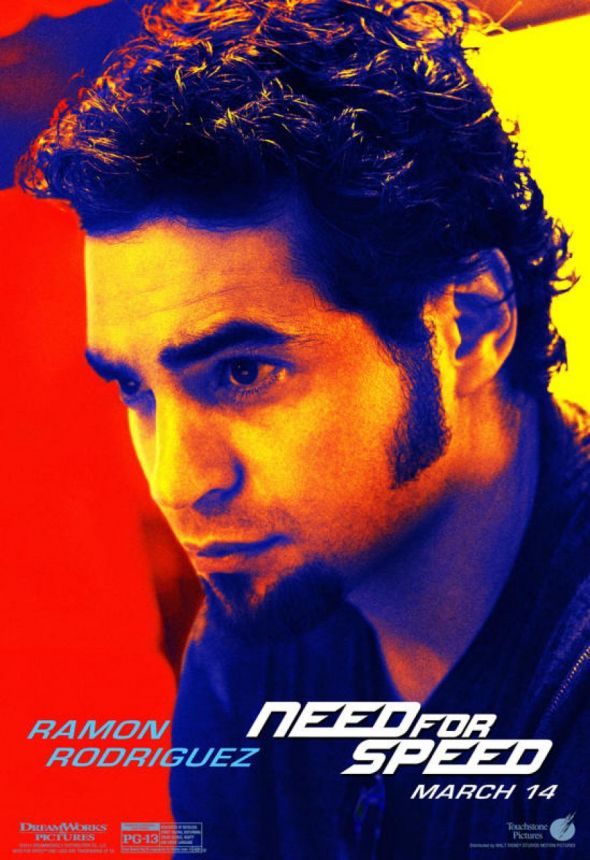 "Ramon Rodriguez as Joe Peck in ""Need For Speed."" Photo Credit: Walt Disney/DreamWorks SKG"