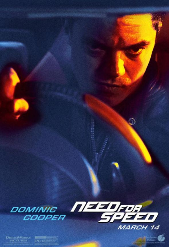 "Dominic Cooper as Dino Brewster in ""Need For Speed."" Photo Credit: Walt Disney/DreamWorks SKG"