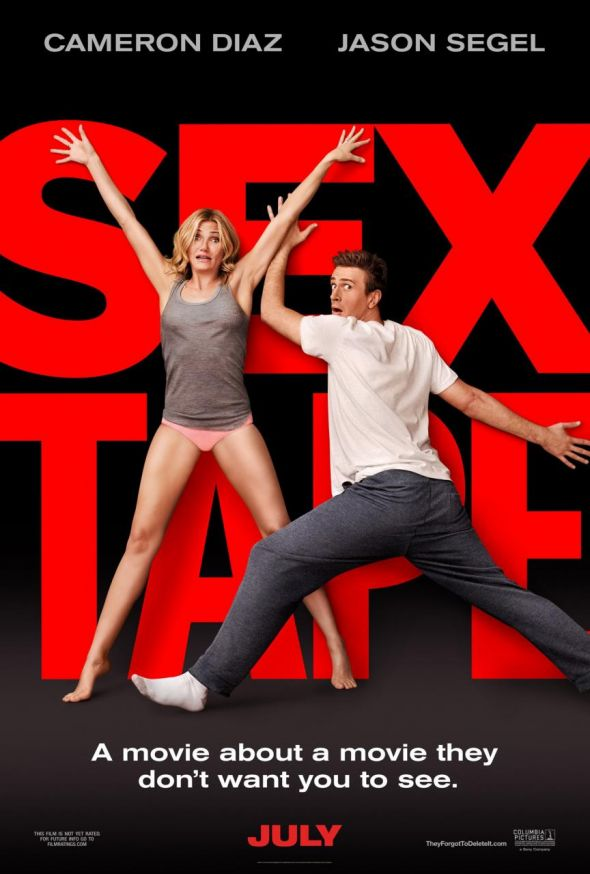 "Jason Segel and Cameron Diaz as Jay and Annie in ""Sex Tape."" Photo Credit: Columbia Pictures"
