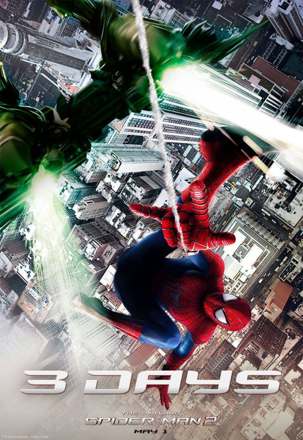 "Promotional Image for ""The Amazing Spider-Man 2."" Photo Credit: Marvel"