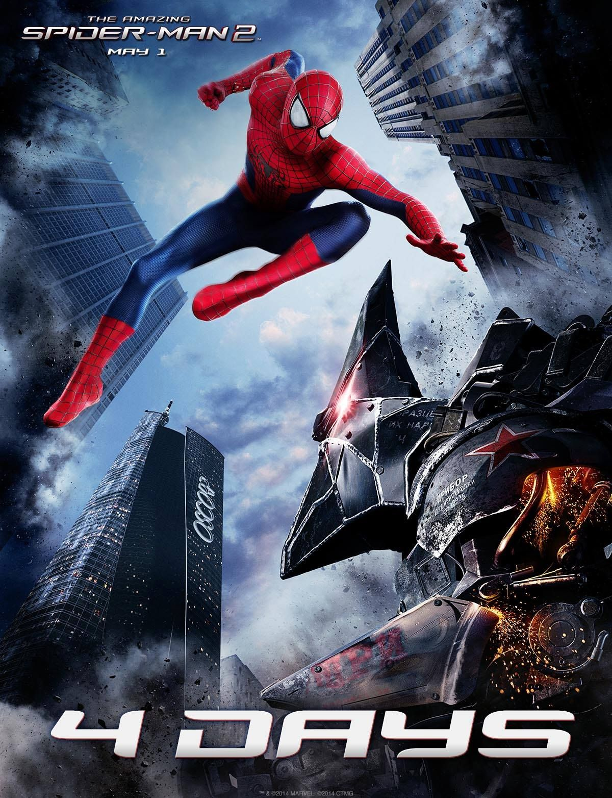 The Amazing Spider-Man 2: Rhino Front and Center in New ...
