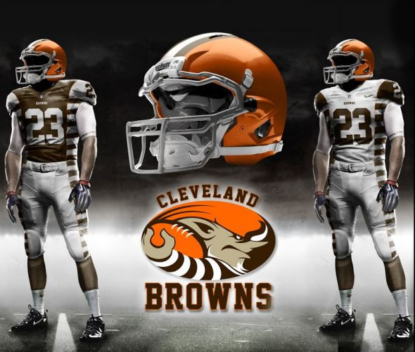 cleveland browns to unveil cutting edge new uniforms in 2015