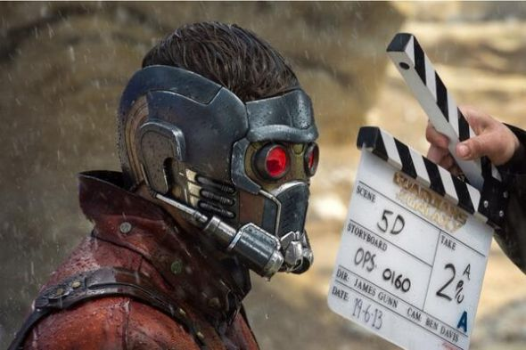 "Chris Pratt as Star-Lord in ""Guardians of the Galaxy."" Photo Credit: Marvel"