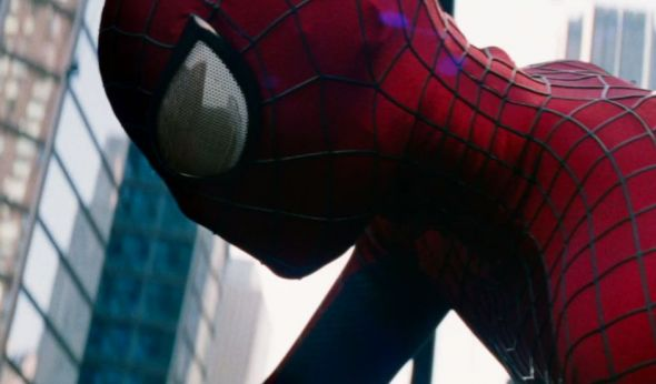 "Andrew Garfield as Spider-Man in ""The Amazing Spider-Man 2."" Photo Credit: Marvel/Sony Pictures"