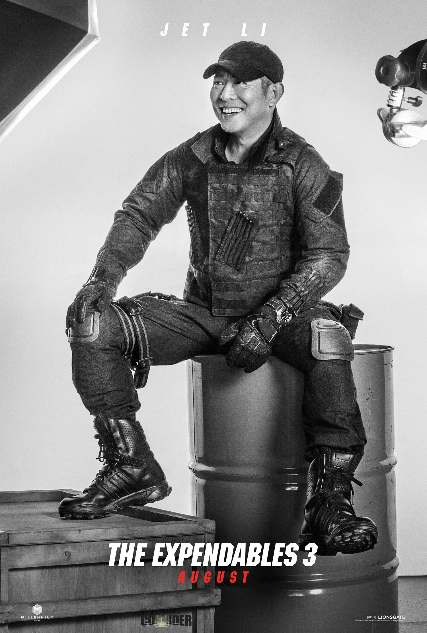 """Jet Li as Yin Yang in the film """"The Expendables 3."""" Photo Credit ... Jet Li Fighting Stance"""
