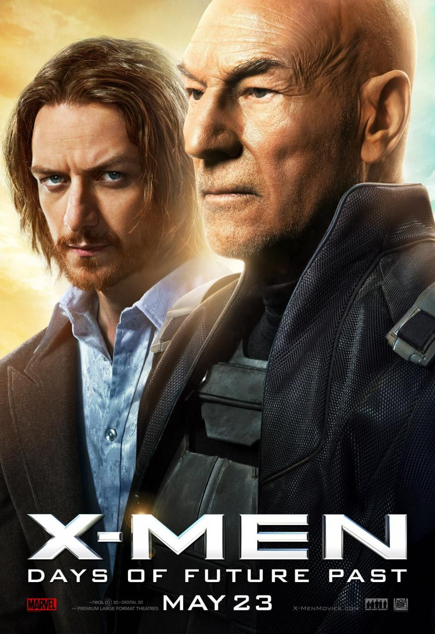 Three New Character Posters for X-Men: Days of Future Past ...