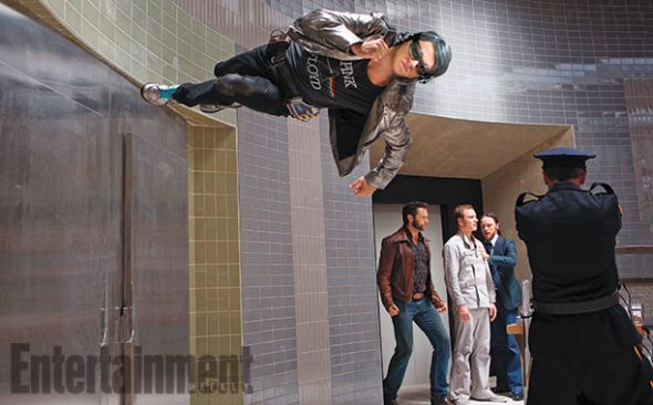 "Evan Peters as Quicksilver in ""X-Men: Days of Future Past."" Photo Credit: Twentieth Century Fox via Entertainment Weekly"