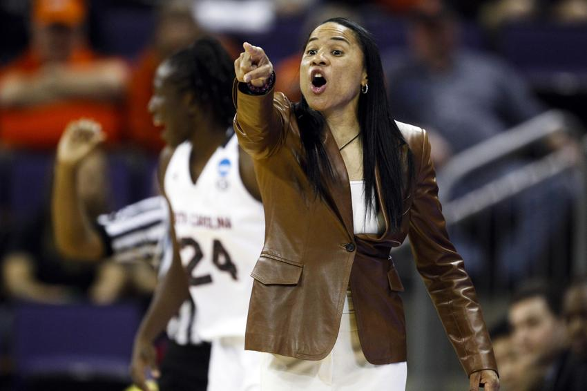 South Carolina Spring Game 2014: Women's basketball coach ...