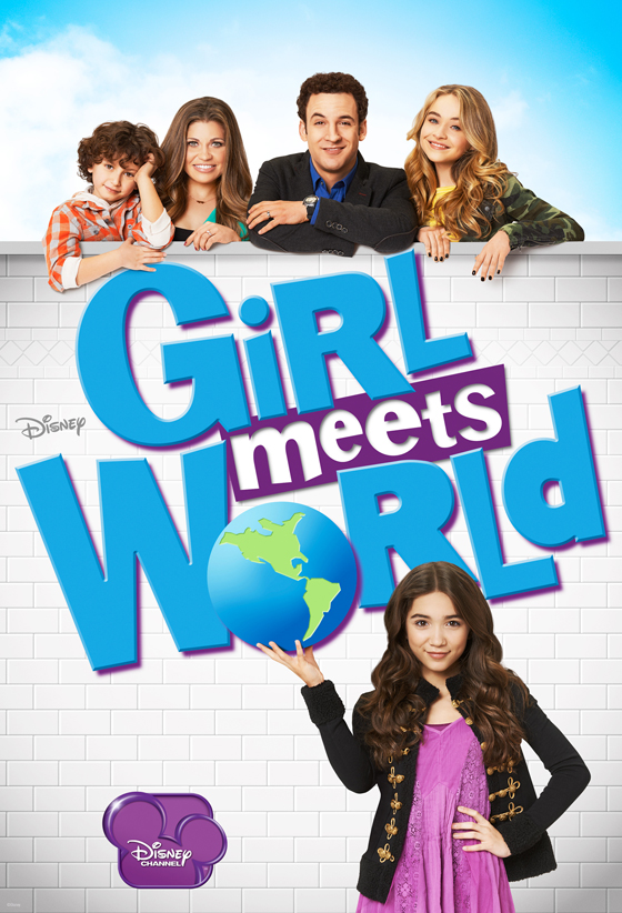 "Promotional Poster for ""Girl Meets World."" Photo Credit: Disney via The Hollywood Reporter"