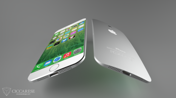 A mock up of the iPhone 6. Photo Credit: Federico Ciccarese, Ciccarese Design