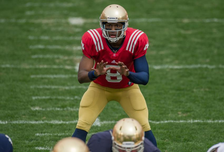 what is the score of the notre dame football game ncaa college football game