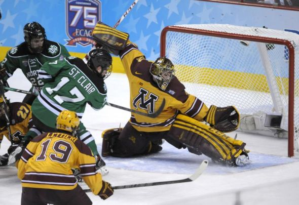 NCAA: Gophers, Union Meet For National Title With Little In Common