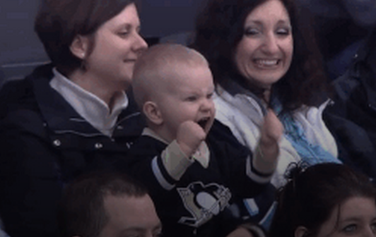 Pittsburgh Penguins Have Awesome Mini Fan Gif