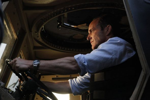 "Clark Gregg as Agent Phil Coulson in the Season Finale of ""Marvel's Agents of S.H.I.E.L.D."" entitled ""Beginning of the End."" Photo Credit: ABC/Kelsey McNeal"