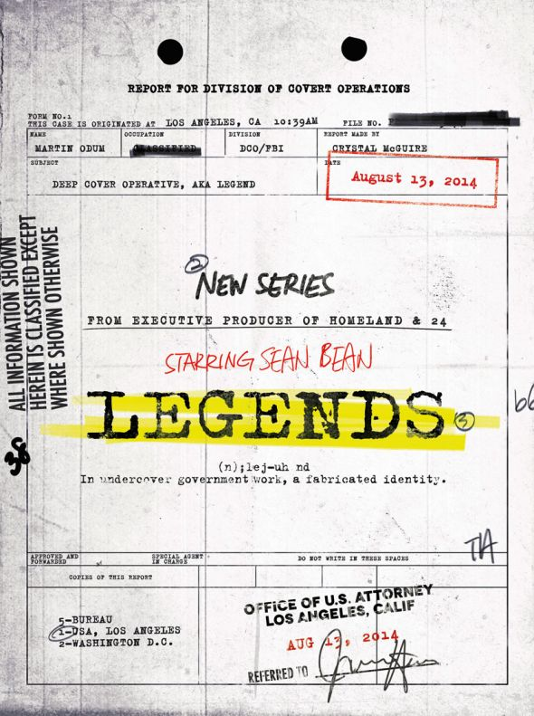 "Key Art for the new series ""Legends."" Photo Credit: TNT"
