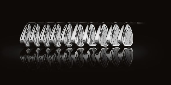 TaylorMade SLDR irons. Photo courtesy of TaylorMade Golf and The Brand Amp.
