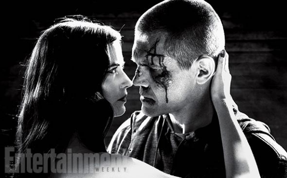 """Eva Green and Josh Brolin as Ava Lord and Dwight McCarthy in """"Sin City: A Dame to Kill For."""" Photo Credit: Dimension Films/The Weinstein Company via Entertainment Weekly"""