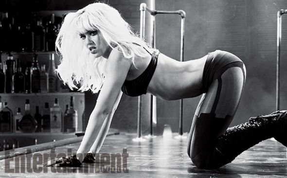 """Jessica Alba as Nancy Callahan in """"Sin City: A Dame to Kill For."""" Photo Credit: Dimension Films/The Weinstein Company via Entertainment Weekly"""