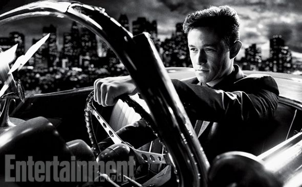 """Joseph Gordon-Levitt as Johnny in """"Sin City: A Dame to Kill For."""" Photo Credit: Dimension Films/The Weinstein Company via Entertainment Weekly"""