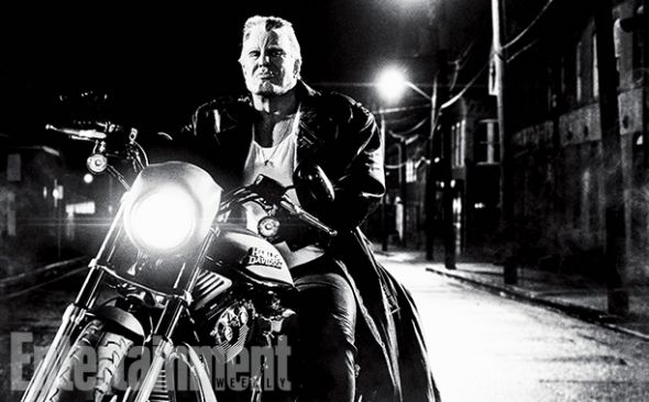 """Mickey Rourke as Marv in """"Sin City: A Dame to Kill For."""" Photo Credit: Dimension Films/The Weinstein Company via Entertainment Weekly"""