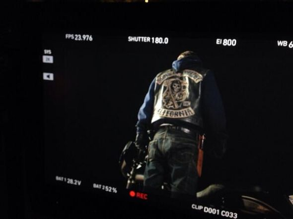 """Charlie Hunnam as Jax Teller in Season 7 of """"Sons of Anarchy."""" Photo Credit: FX Networks"""