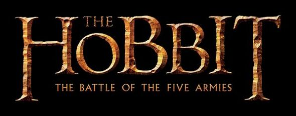 "The official logo of ""The Hobbit: The Battle of the Five Armies."" Photo Credit: Warner Bros."