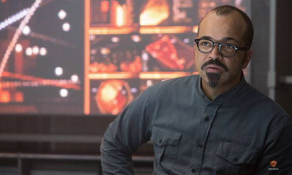 "Jeffrey Wright as Beetee in ""The Hunger Games: Mockingjay Part 1."" Photo Credit: Lionsgate"
