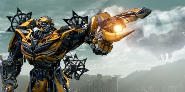 "Bumblebee in ""Transformers: Age of Extinction."" Photo Credit: Paramount Pictures via Empire Magazine"