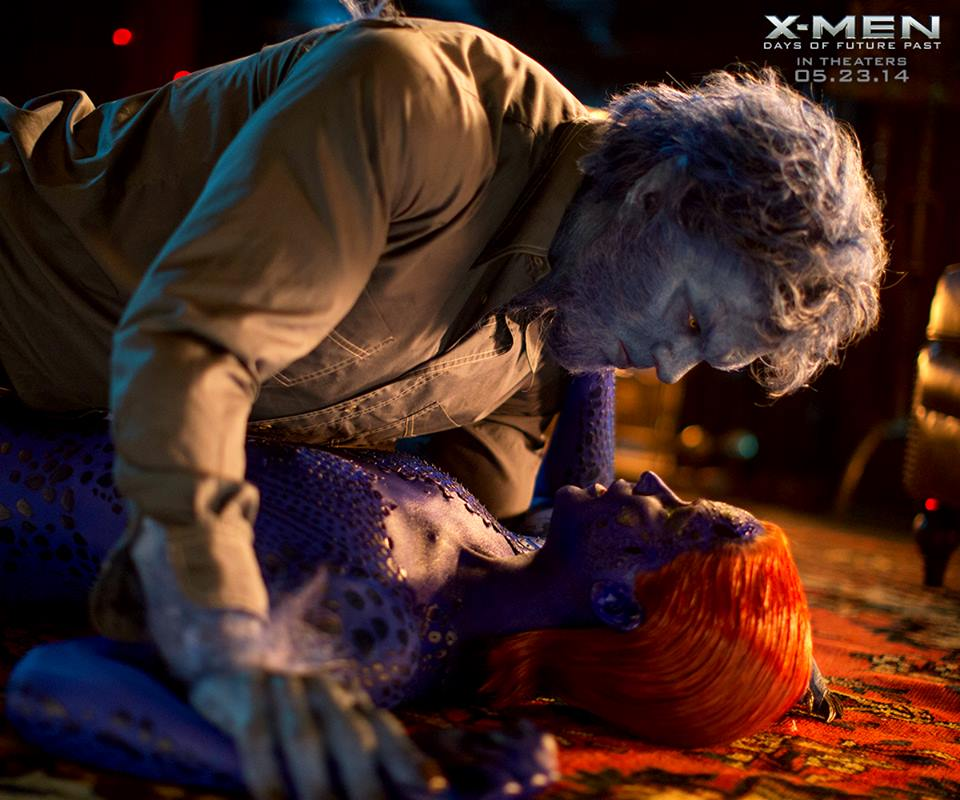 Jennifer Lawrence as Beast and Mystique in  quot X-Men  Days of Future Past    X Men Days Of Future Past Mystique Jennifer Lawrence