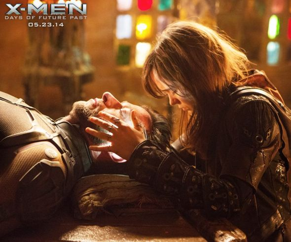 "Hugh Jackman and Ellen Page as Wolverine and Shadowcat in ""X-Men: Days of Future Past."" Photo Credit: Twentieth Century Fox"